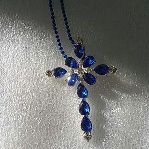 Australia crystals gemstone cross new